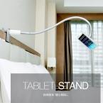 Lp-7s универсальный планшет PC 7 - 10 дюймов алюминиевого сплава кровать смартфон стенд 360 град. вращения для iPad держатель гибкий