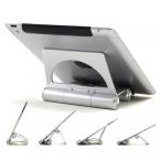 """Нью-алюминиева настольный держатель для Apple , iPad 2 / 3 / 4 5 воздуха мини для iphone 4s 5S планшет пк 3.5 - 14 """" универсальная подставка"""