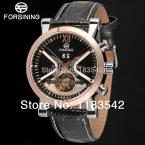 Forsining новая мода платье часы для мужчин с ума продаж бесплатная доставка FSG2371M3T1