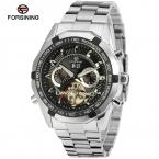 Forsining мужские часы классический марка календарь турбийон аналоговый водонепроницаемый платье наручные часы FSG340M4