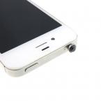 1 шт. роскошные аксессуары небольшой горный хрусталь 3.5 мм пыли разъем для наушников для Iphone Ipad Samsung HTC