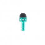 Дешево и скидка Высокое качество телефонные аксессуары Dust Разъем для наушников 3,5 мм штекер для Iphone / Ipad / Samsung / HTC # 054