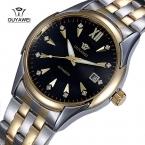 Бренд OUYAWEI 1339 мужские авто бизнес-механические наручные часы из нержавеющей стали мода мужские часы Relogio Masculino