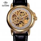 Люксовый бренд OUYAWEI 1039 автоматическая self-ветер механические часы мужские наручные часы подарок мужчины
