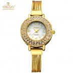 Kingsky Роскошные Женщины Часы Известных Брендов Золото Дизайн Моды Браслет Часы Дамы Золотые Браслеты Часы Relógio Feminino