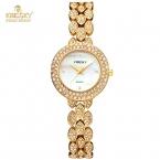 Новый Люксовый Бренд Kingsky Часы Женщины Полный Кристалл Женщины Кварцевые Часы Мода Роскошные Дамы Наручные Часы Montre Femme