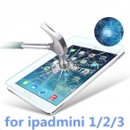 Для ipadmini защитная пленка закаленное стекло прозрачный премиум закаленное стекло защитная пленка для iPad 1 2 3 сетчатки