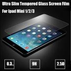 Ультра-тонких 0.3 мм закаленное стекло экрана протектор для IPad mini 1 2 экран защитную пленку, 9 H твердомер с против взрывов ,