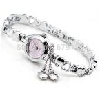 Relogios femininos Кимио часовой моды женщин из нержавеющей стали кулон сердце дамы аналоговый кварцевые часы час часы montre femme