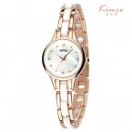 2016 Kimio лучший бренд класса люкс наручные часы для женщин Горный Хрусталь кристалл мода дамы аналоговый кварцевые часы montre femme часы женский