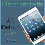 2 шт. / lot - экран протектор для iPad mini 2 3 4 жк-дисплей прозрачный прозрачный экран гвардии защитная пленка для Apple iPad