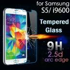Высочайшее Качество 0.26 мм 2.5D взрывозащищенный Закаленное Стекло-Экран Протектор Для Samsung galaxy S5 i9600 Защитная Пленка