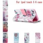 Чехол для аудио touch5 6 кожа, дизайн цветочный узор бумажник стойка откидной чехол для аудио касание 5 6 Touch6