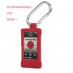 Спорт на открытом воздухе многофункциональный высокое качество кремния карабин чехол для iPod Nano7 зажимы с крючком для Apple , iPod Nano 7 седьмой