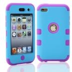 Для iPod Touch 4 Touch4 4-й 4 г гибридный противоударный комбо робот 3 в 1 шт. резиновый чехол защитная крышка кожи   протектор