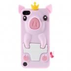 Силиконовый чехол свинья  для Ipod Touch 5