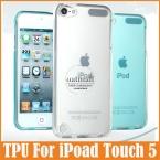 Новый 2016 тонкий верхний тпу чехол для iPod Touch 5 чехол мягкая прозрачная прозрачный гель матовая для iPod чехол сенсорный 5 защитную оболочку кожи