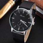 Новинка кварц - часы люксовый бренд господа кожаный ремешок часы бизнес мужской часы наручные часы Relogio Masculino