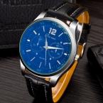 Мужчины часы лучший бренд класса люкс кожаный ремешок часов высокое качество наручные часы мужчин военная кожа reloj mujer