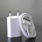 Новые путешествия ес подключите USB зарядное устройство адаптер питания синхронизация данных для iPhone 4 4S 3 г 3GS для iPad 2 3 ставку зарядное устройство