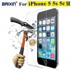 Оригинальный Baixin 0.3 мм 2.5D закаленное стекло протектор для iPhone 5 5S 5c SE HD закаленное защитная пленка для уборки комплект