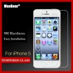 Закаленное стекло защитная пленка для Apple , iphone 5 5S 5C SE anti-разобьет фильм для iPhone5s гвардии 0.33 мм 9 H - скреста