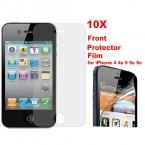 Специальная Цена 10 шт./лот Прозрачный Передний Экран Защитная Пленка для iPhone 4 4S 5 5S 6 6 s 6/6 s плюс Свободный доставка