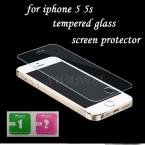 Для iphone 5 закаленное стекло для iphone 5 протектор экрана для iphone 5S стекло 9h2. 5D 0.3 мм жесткая экран пленка для iphone 5 стекло