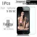 Настоящее Взрывозащищенный жк-ясный передняя премиум закаленное стекло защитная пленка жк-гвардии для Apple , для iPhone 5 5S 5C 5 г экран