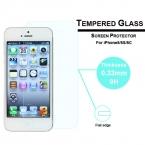 Высокое качество тонкий жк-ясный передняя кривый закаленное стекло экран протектор защитная пленка для iPhone 5 5 г 5S
