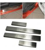 Накладки на пороги для SKODA FABIA II 2007 - 4 шт./компл. защиты пороги стайлинга автомобилей tunung аксессуары