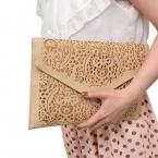 Валентина сумки  цепи конверт вырез искусственная кожа цвета конфеты женский день клатч посыльного pochette составляют мешок