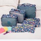 Новый 6 шт./компл. женщины мужчины путешествия сумка для хранения водонепроницаемый высокой емкости камера одежда аккуратный чехол для хранения портативный организатор чехол