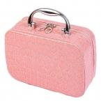 Горячая и новая косметическая чехол  симпатичные мода леди макияж чемодан крокодил женщин женщины мешок jx013