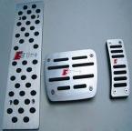 Алюминия MT педали для ног линия fit Audi A4 A4L A5 A6 A6L A8 A8L B6 B8 Q5