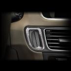 Серебряный замочная скважина декоративная отде для Audi Q5 стайлинга автомобилей