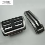 Автомобиль стайлинг Автомобиля нержавеющей стали тормозной ускоритель footrest педали Для Audi Q7/Porsche Cayenne/VW Touareg