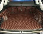 Хорошо и новый Специальная магистральных коврики для всех новых Audi Q7 5 места  легко чистить водонепроницаемые ковры для Audi Q7 , Бесплатная доставка
