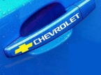 4 шт./лот личности отражающей ручки декор наклейки, Стайлинга автомобилей наклейки чехол для chevrolet cruze / chevrolet aveo и т . д .
