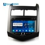 Для Chevrolet Aveo соник 2011   андроид 4.4.4 S160 Automotivo в-dash пк авто монитор радио стерео CD DVD GPS авторадио