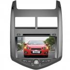 Бесплатная доставка  лучшие профессиональные вздрагивания dvd-автомагнитолы для Chevrolet Aveo 2011 - с Bluetooth бесплатную карту