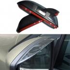 1 пара стайлинга автомобилей зеркало заднего вида бровей непромокаемые гибкая лезвия пвх аксессуары для Ford Kuga