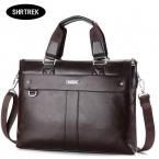мужчин свободного покроя портфель бизнес плеча , кожа вестник мешки портативный компьютер сумки сумка мужские дорожные сумки NBB235