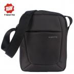 нью-сумка сумка мужчин 10 дюймов черный красный нейлоновая сумка небольшие бренд бизнес сумки для мужчин
