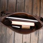 Мода натуральная кожа мужские сумки посыльного мужчина портфель офис сумка качество путешествия плечо сумки для человека DS02