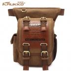 Горячая продажа kaukko menThick холст путешествия сумки на ремне винтаж уникальный сумки человек мешок креста тело