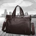 мужчин свободного покроя портфель бизнес плеча кожа сумки портативный компьютер мужские дорожные сумки