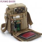 Летящие птицы мужчины сумки посыльного плеча сумку горячей продажи холст сумки высокого качества для мужчин путешествия мужчины сумка высокого качества LM0001