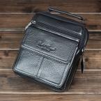 Натуральная кожа мужской сумки высокое качество реального коровьей деловых людей , сумки свободного покроя путешествия сумка