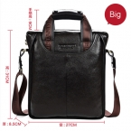 Мужская сумка BOSTANTEN из натуральной 100% кожи с ремнем через плечо, деловой портфель для ноутбука, портмоне